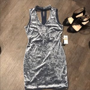 NWT AS U WISH velvet dress